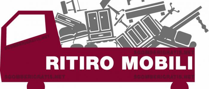 RITIRO MOBILI A MILANO E HINTERLAN D